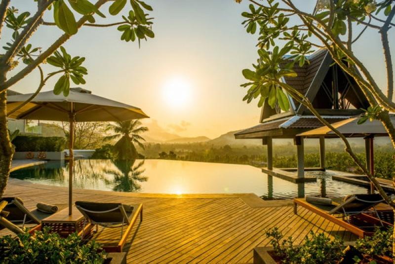 Admirer un coucher de soleil en Thaïlande