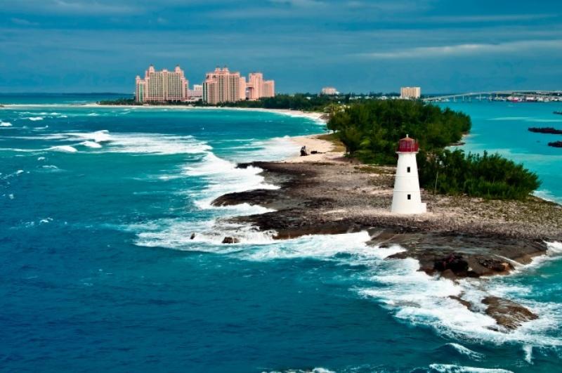 A Nassau aux Bahamas dans les Caraïbes