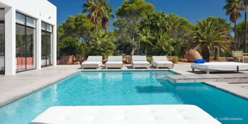 Piscine à la Villa Salvador, Ibiza - Espagne