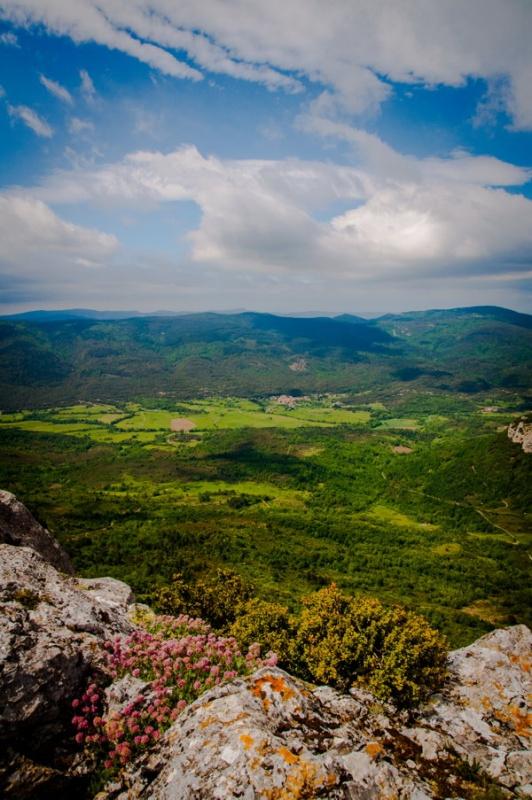 De magnifiques paysages en randonnée