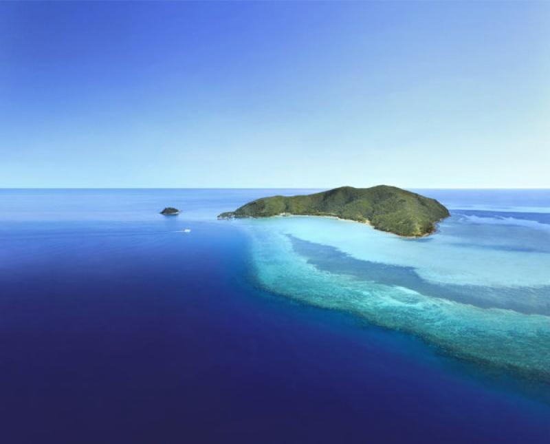 Le One&Only Hayman Island en Australie sur une île