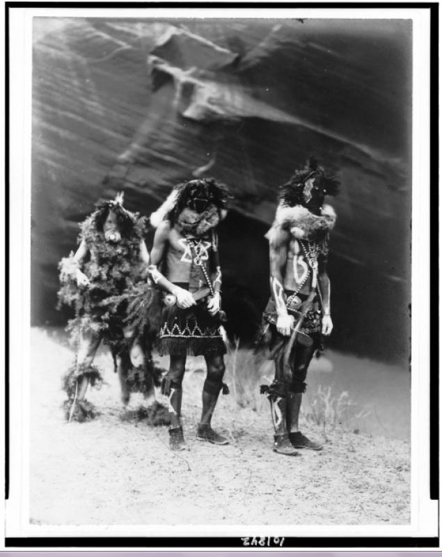Les Navajos indiens