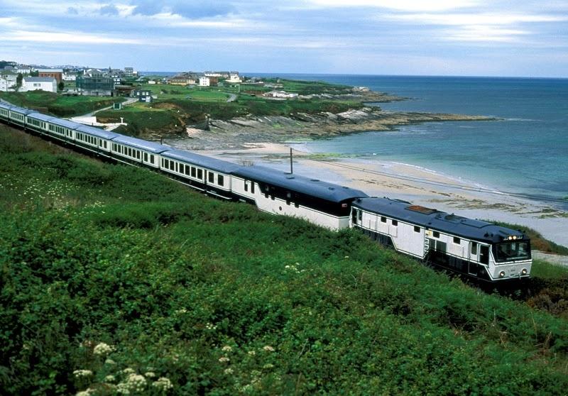 Se balader dans toute l'Espagne en train