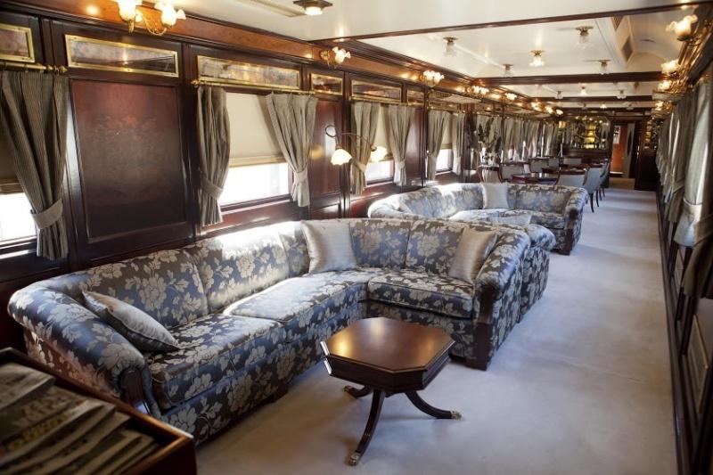 Les salons du train de luxe en Espagne