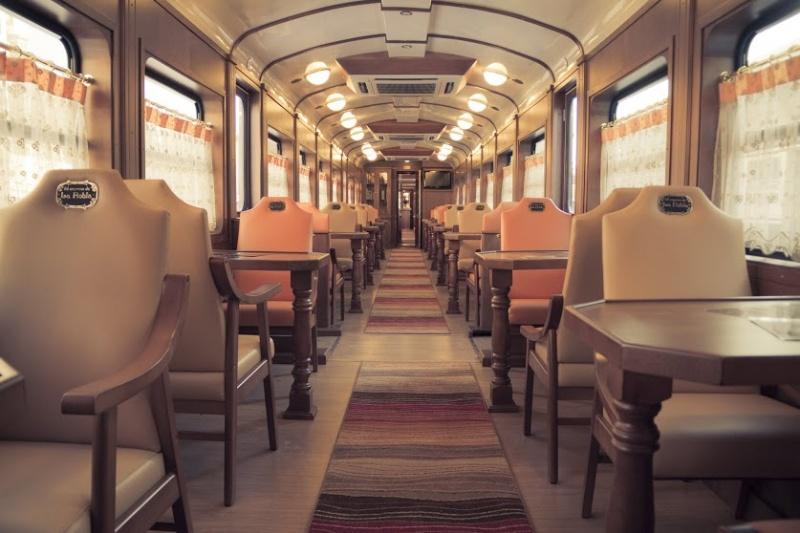 Dans un train en Espagne