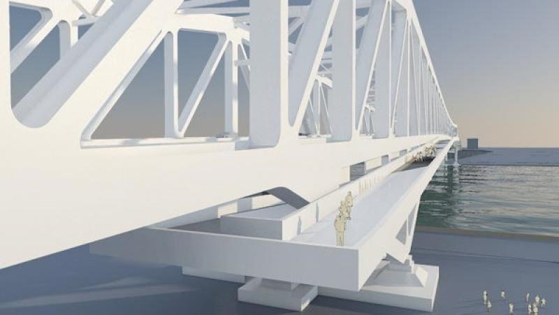 Un pont totalement design en Chine