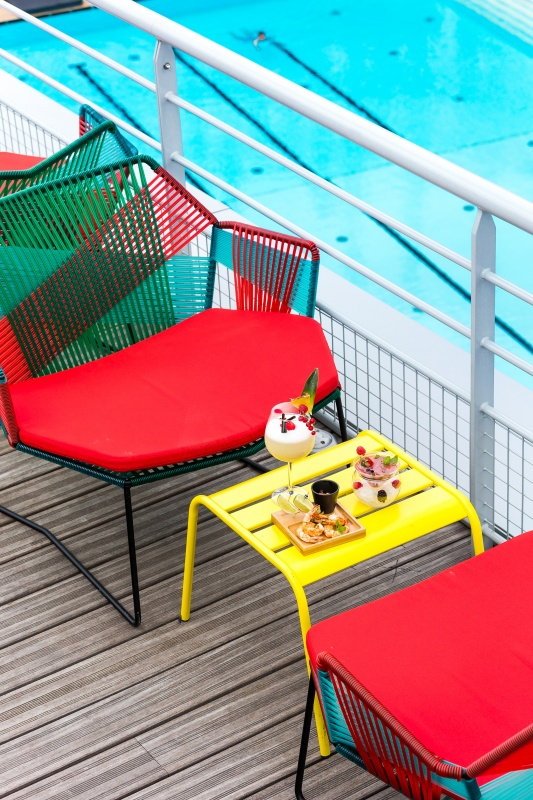 Le molitor ouvre son toit terrasse blog voyage luxe for Pamplemousse club piscine