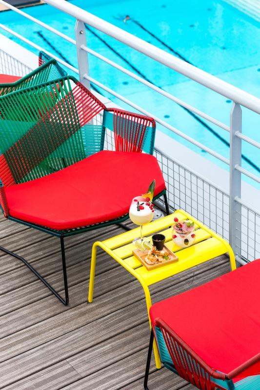 Pause gourmandise au Molitor sur la terrasse à Paris