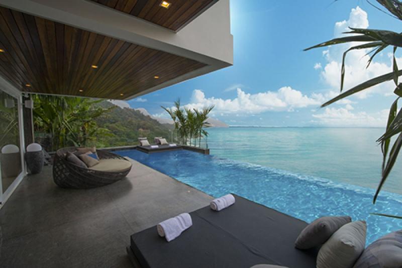 Villa luxe avec une terrasse de dingue au Brésil