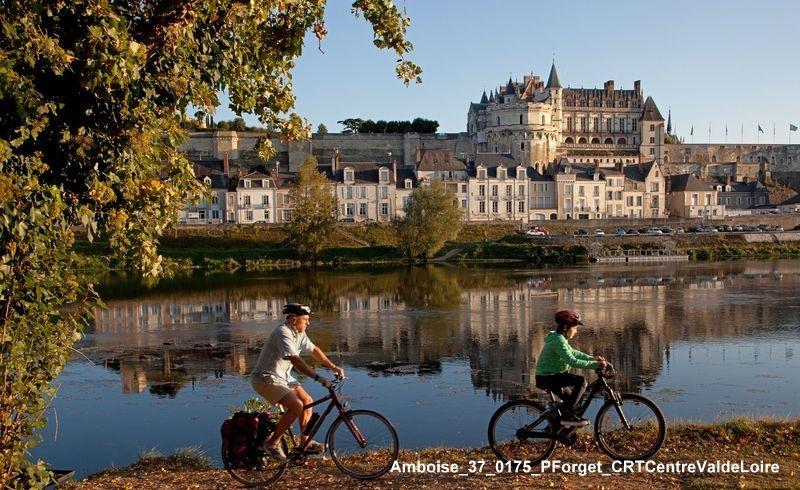 Le château d'Amboise en vélo dans la Loire