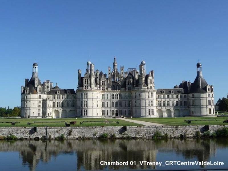 Découvrir les châteaux de la Loire en vélo