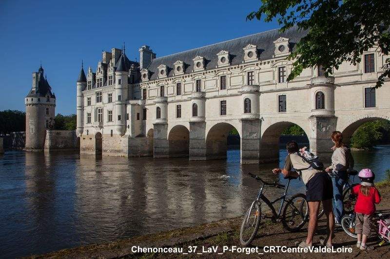 Le château de Chenonceau dans la Loire