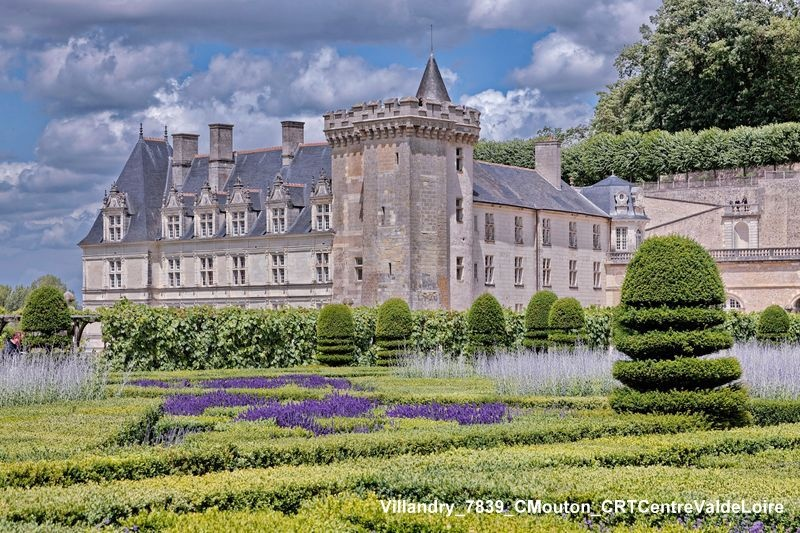 Le château de Villandry pour la Loire à vélo