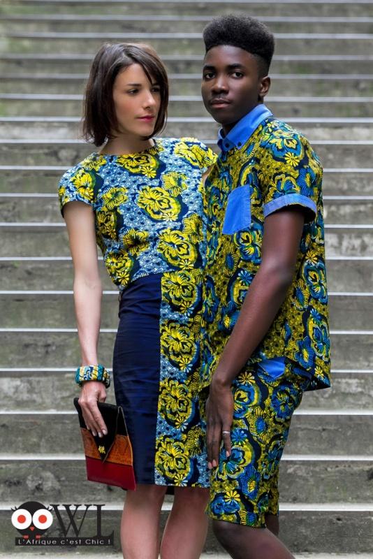 Look de l'Afrique C'est Chic