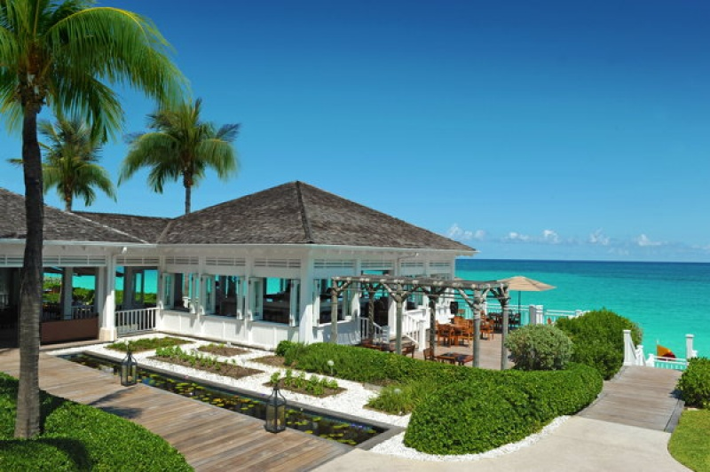 Vue paradisiaque depuis le One&Only Club aux Bahamas