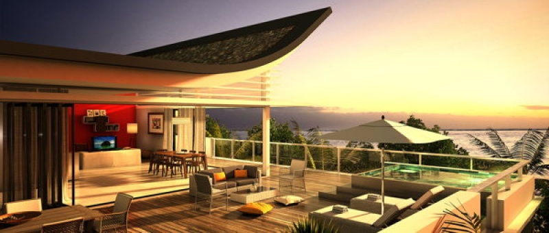 Des penthouses et suites de prestige en construction à Azuri