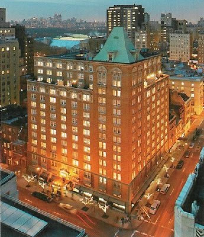 Vue sur le Mark Hôtel à New York