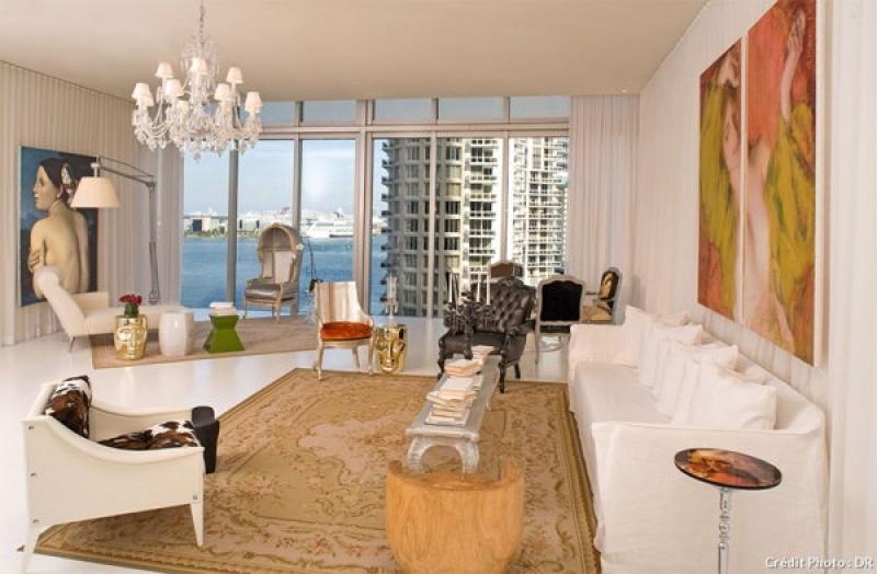 Dans le spa du Viceroy Hotel à Miami