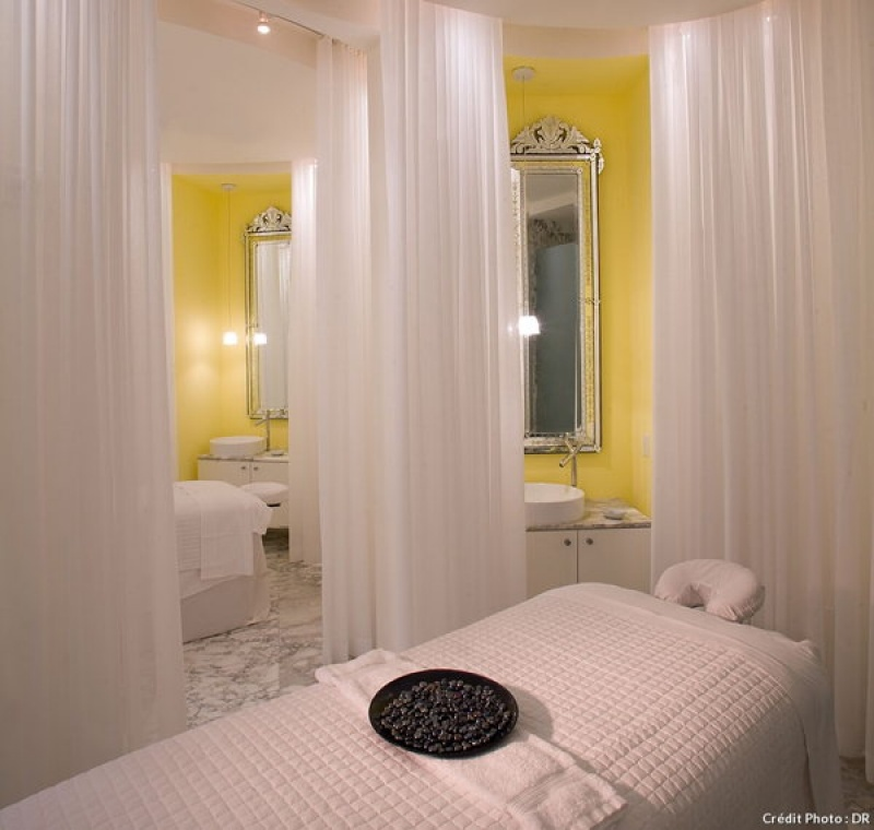 Dans une cabine du spa du Viceroy Hotel à Miami