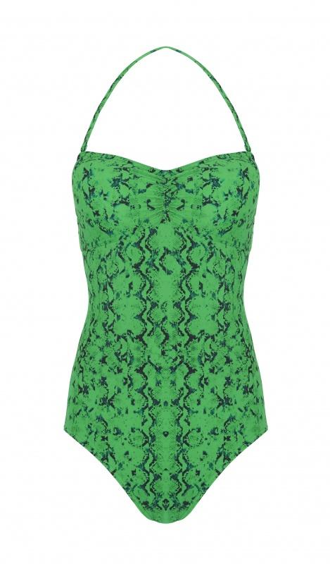 Maillot de bain vert