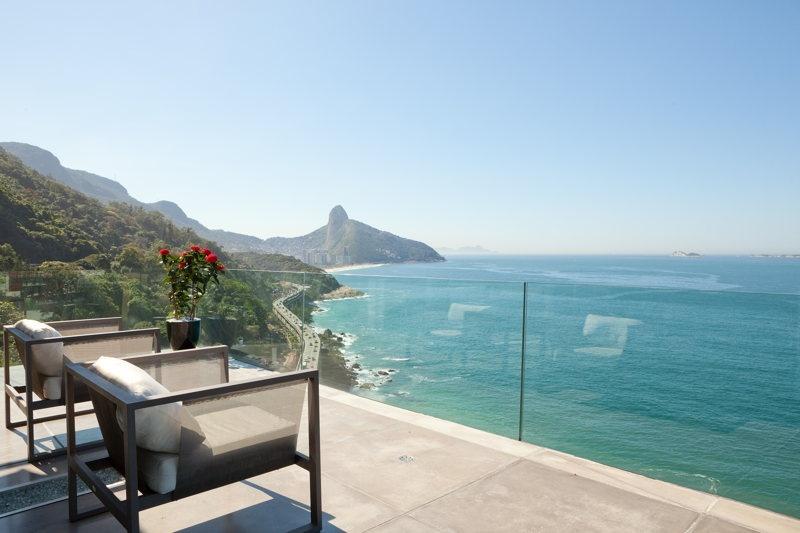 Depuis la terrasse à Rio de Janeiro Copyrights: WhereInRio