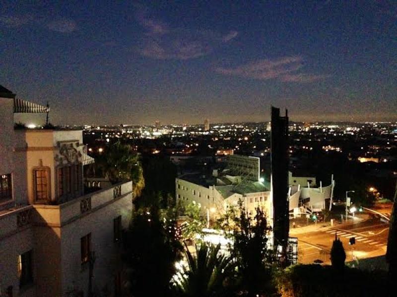 La vie de château à Los Angeles version nuit DR : Sébastien Bizet