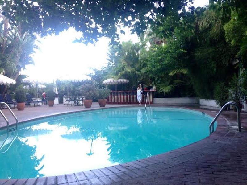 La piscine du Château Marmont DR : Sébastien Bizet