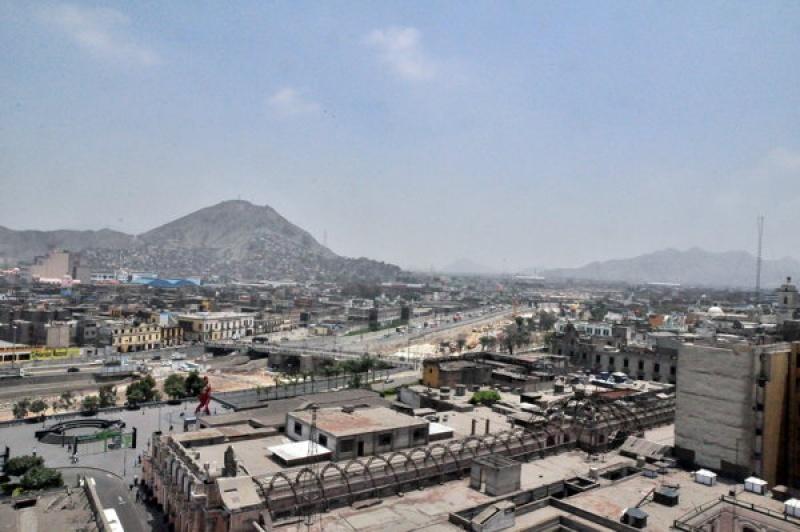 Vue paradisiaque sur Lima