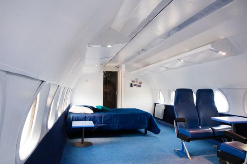 Chambre - Hébergement insolite : dormir dans une caravelle !