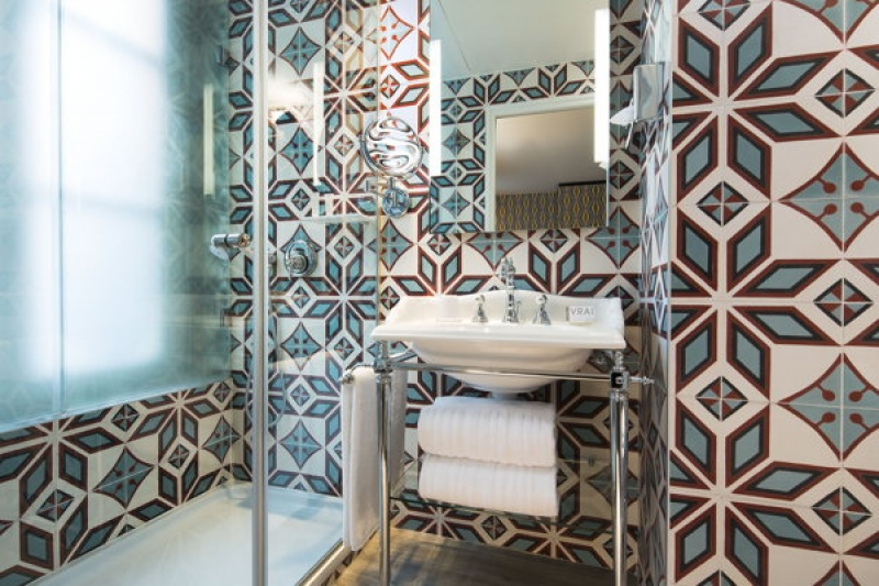 Salle de bain - L'hôtel L'Antoine à Paris