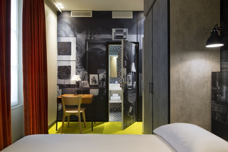 Bureau dans chambre - L'hôtel L'Antoine à Paris