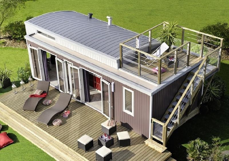 Bungalow avec terrasse sur le toit - Holiday Green de Fréjus