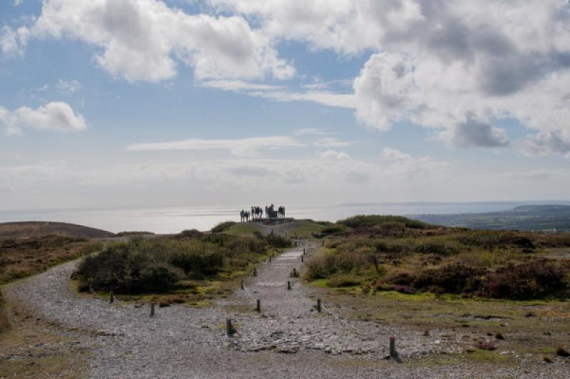Sur la Presqu'île de Crozon en Bretagne
