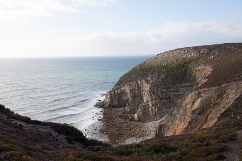 Se balader sur la pointe de Pen-hir en Bretagne