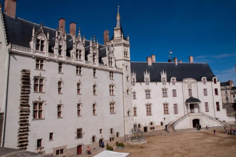Le Château de Nantes en Bretagne