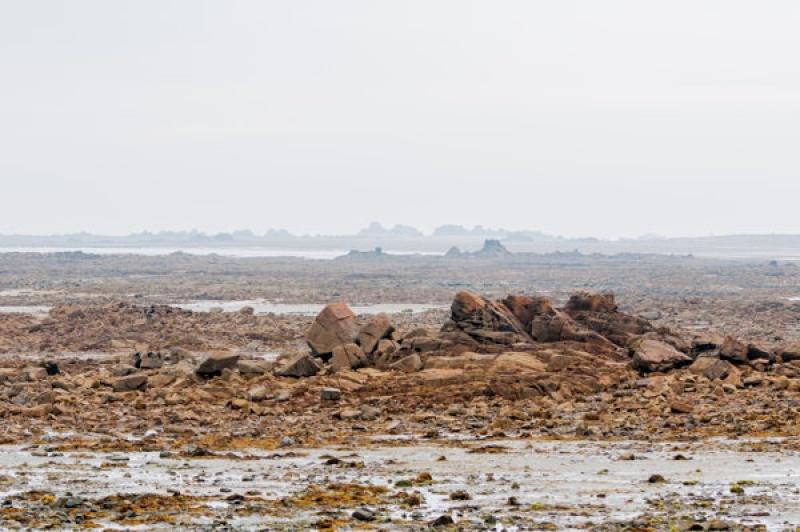 A marée basse en Bretagne