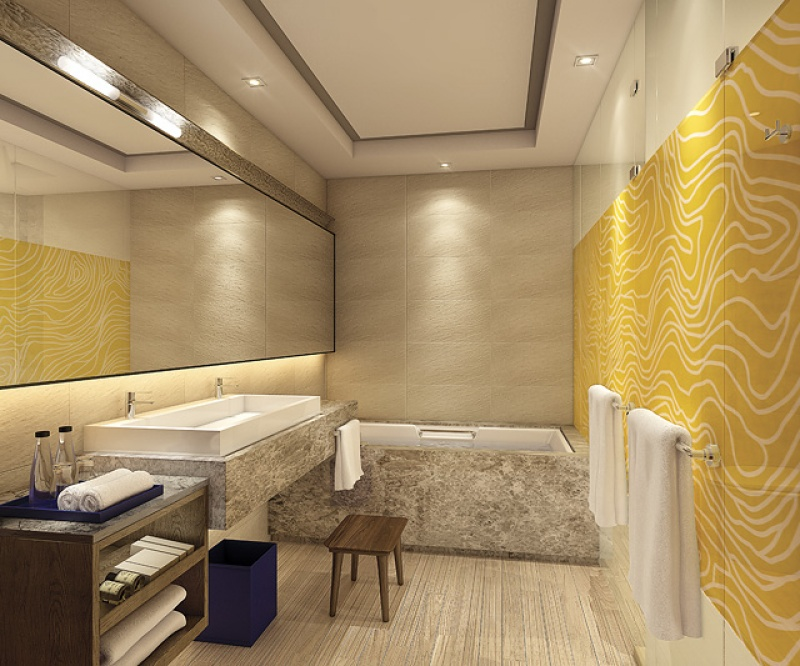 Salle de bain - Touessrok Resort à l'île Maurice