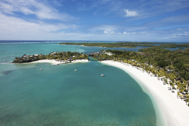 Plage de sable blanc - île Maurice