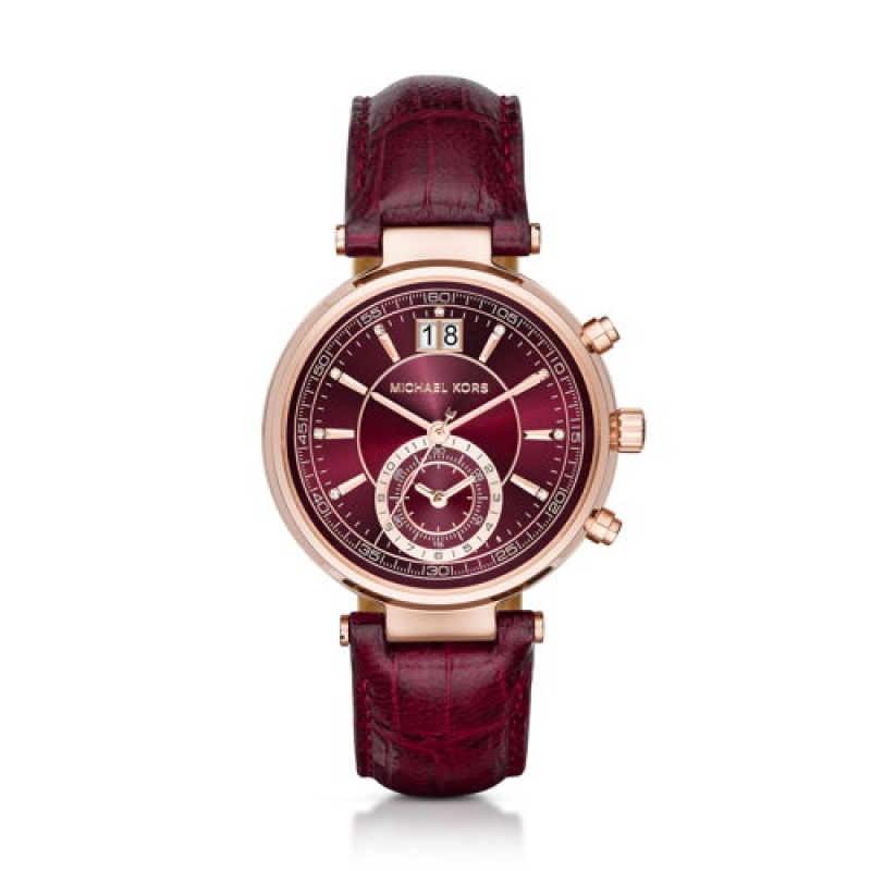 Montre Bordeaux de Michael Kors