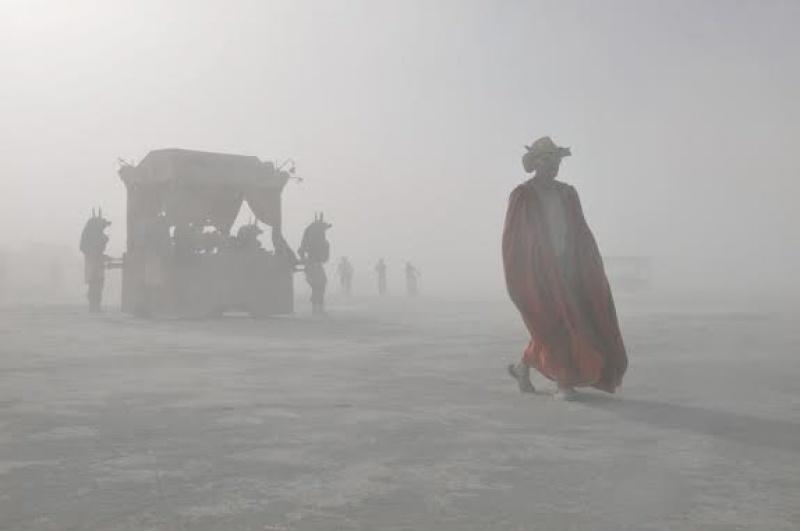 Décor incroyable à Burning Man - Etats-Unis