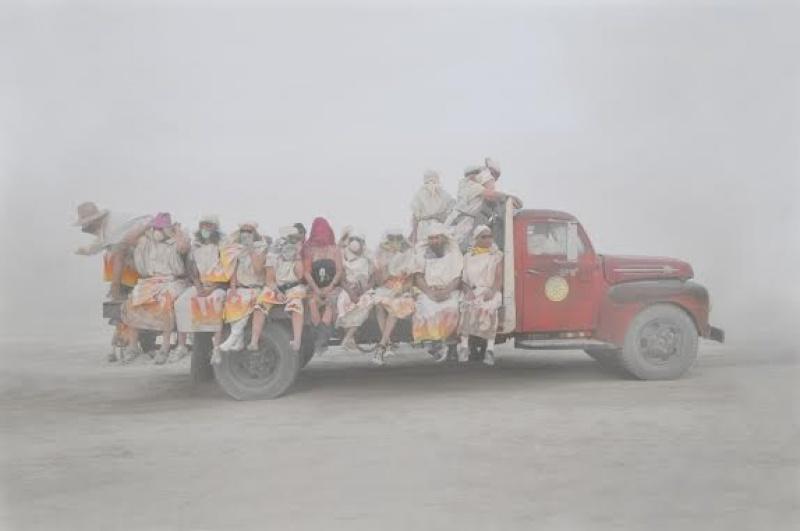 Chargement à Burning Man - Etats-Unis