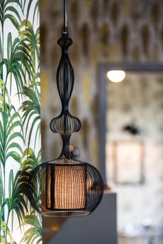 Déco lustre - Villa Bougainvilles à Nice