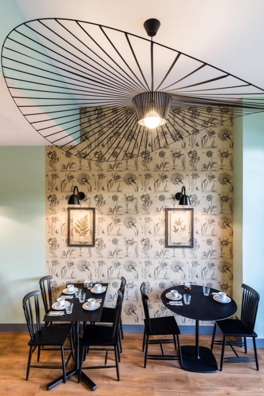 Déco salle petit-déjeuner - Villa Bougainvilles à Nice