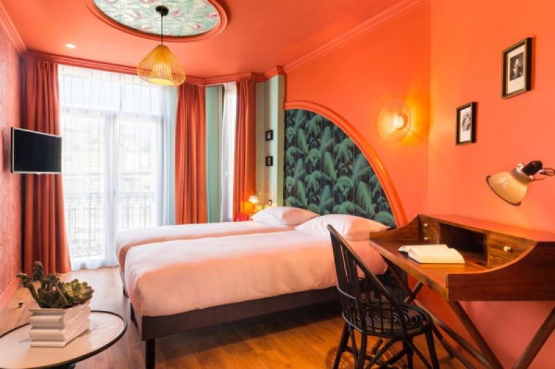 Chambre - Villa Bougainvilles à Nice