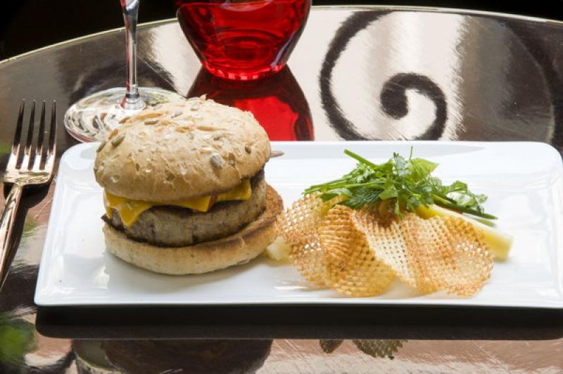 Hamburger au Vraymonde à Paris
