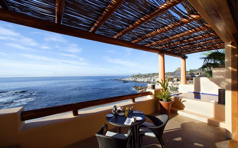 Terrasse privée - Auberge Espéranza au Mexique