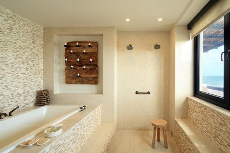 Salle de bain - Auberge Espéranza au Mexique