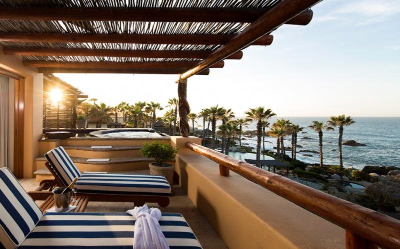 Terrasse - Auberge Espéranza au Mexique