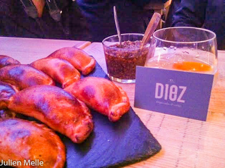 Fourrés à la viande, le Diez le petit goût de l'Argentine à Toulouse