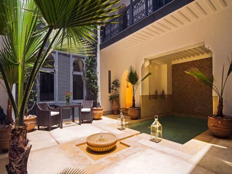 Patio - Riad Adore au Maroc